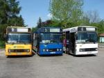 MZK Zywiec 318 + 340 + 347